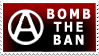 Bomb The Ban by rudeboyskunk