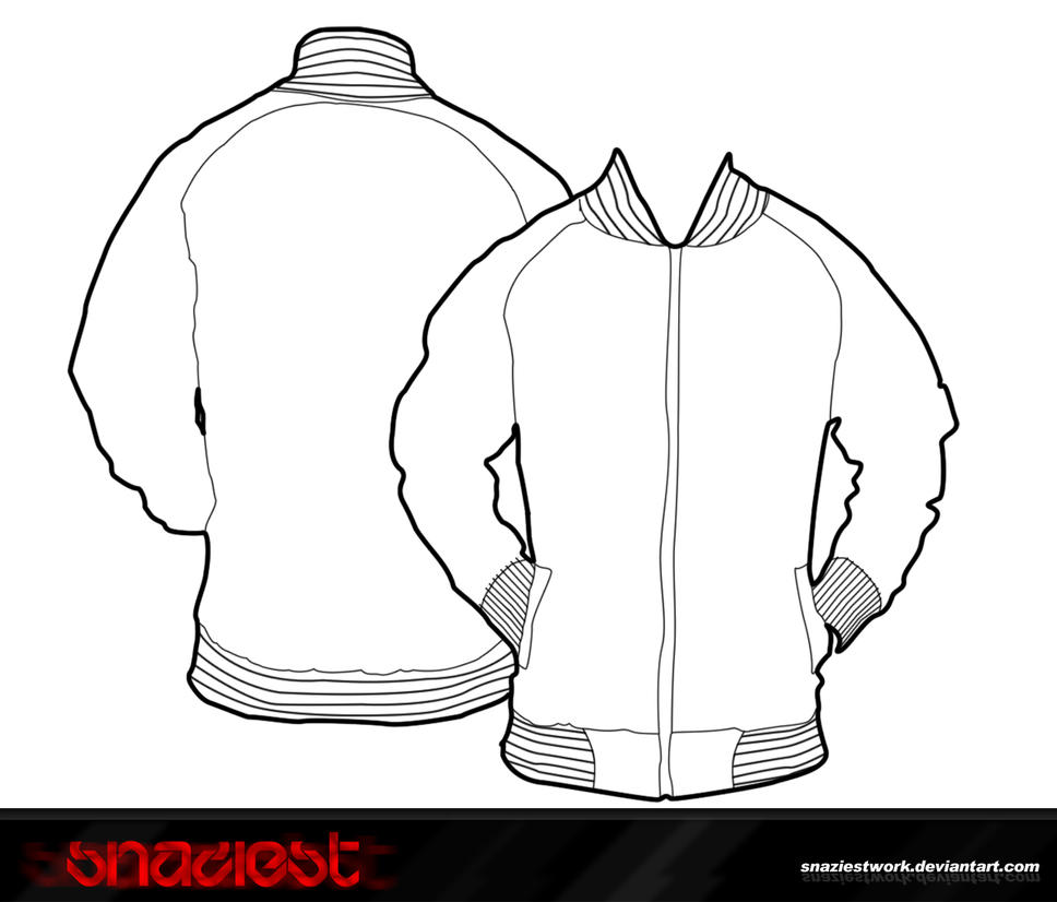 Letterman jacket template photoshop templates - 2018