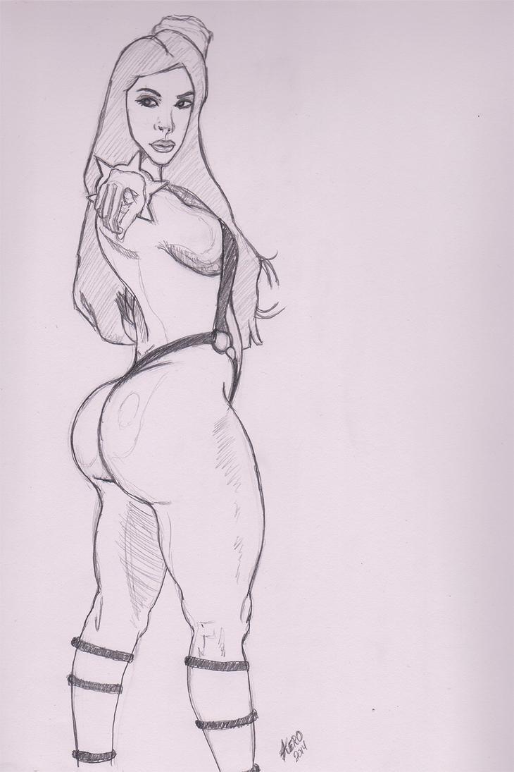 Female Pose Studies by kenrostudio