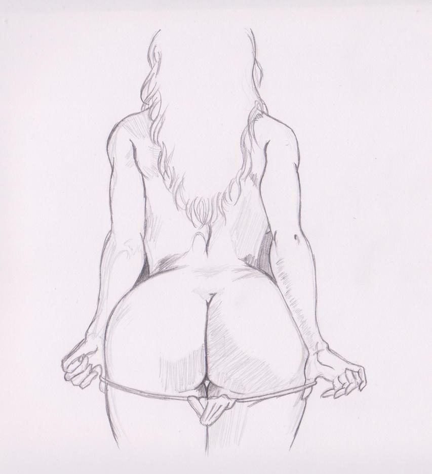 Druuna Anatomy Study 3 by kenrostudio