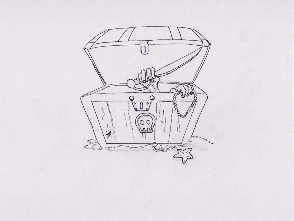 Treasure Chest by kenrostudio
