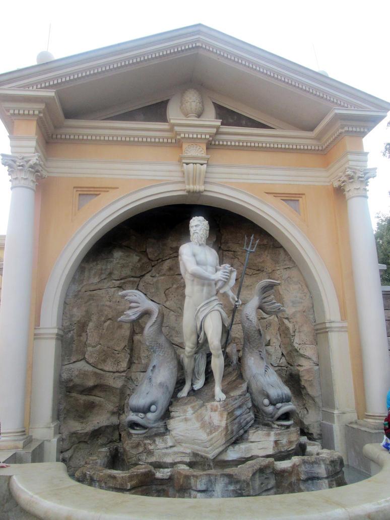 Poseidon Statue by kenrostudio