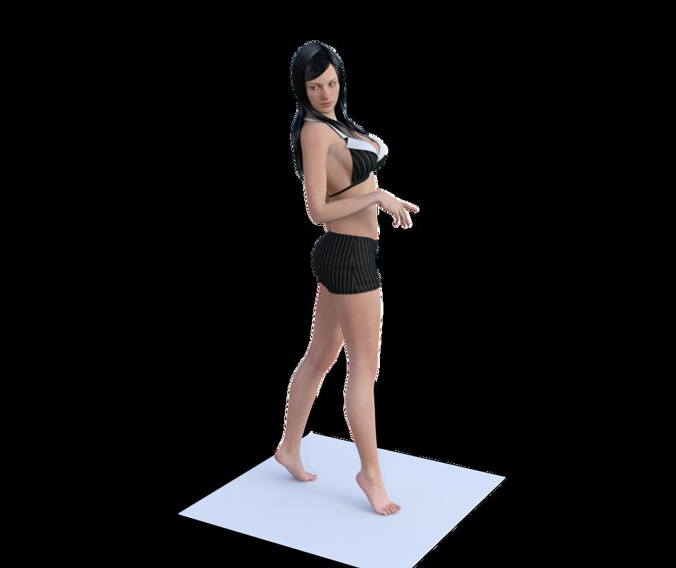 Model by kenrostudio