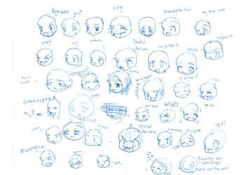 Emotion Guide by KuroEdakumi