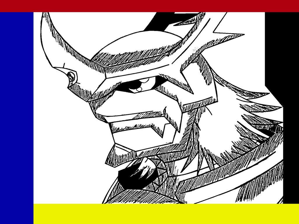 imperialdramon fighter mode (FM) by demongaro on DeviantArt