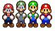 Mario and Luigi Super smash Bros Brawl by albert99