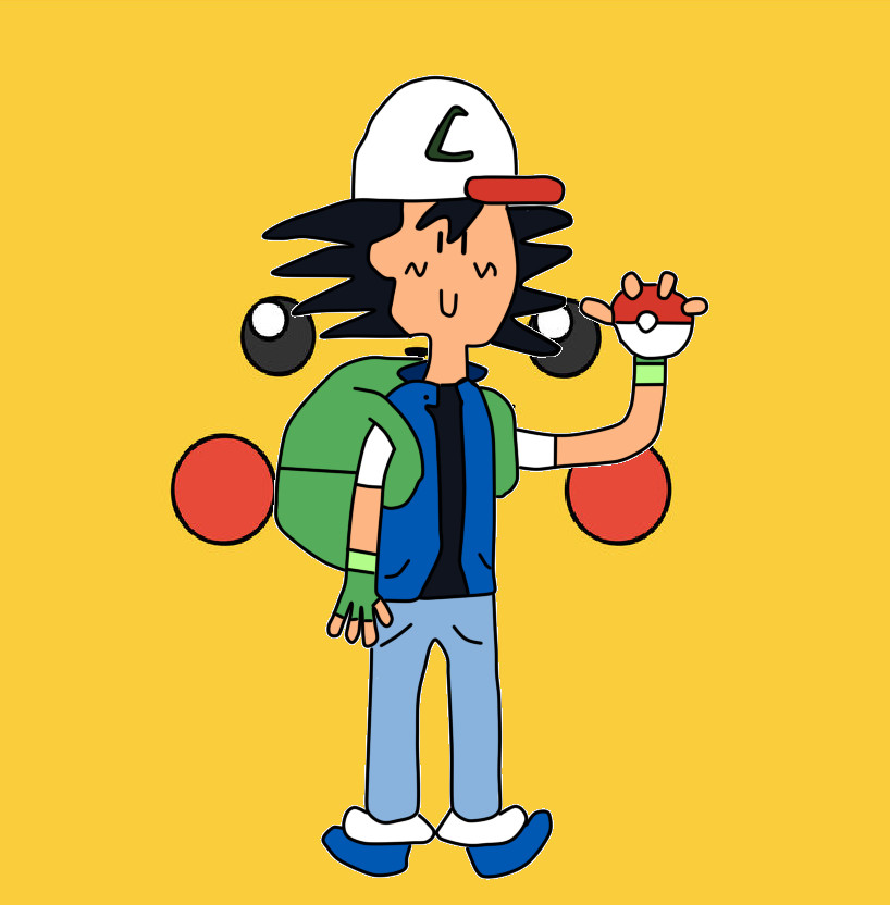 Adventure Time Ash Ketchum by albert99