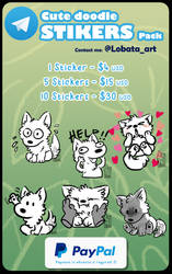 Cute doodle Stickers
