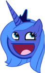 Princess Luna Awesome Face