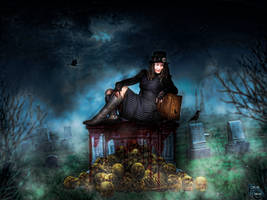 Graveyard Diaries by foreveroriginalgraph