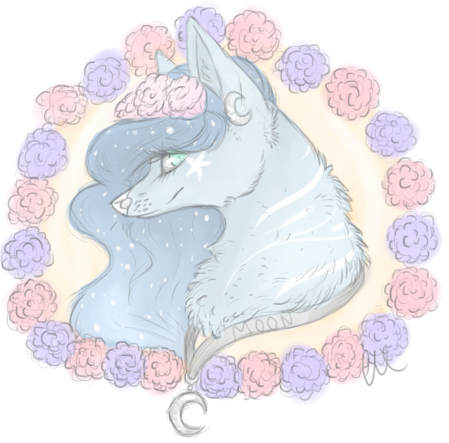 Moonstream419 PC {among the roses} by Rhisper