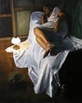 oil on canvas 8