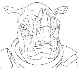 Colour-Your-Own Judoon