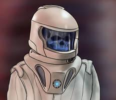 Vashta Nerada Spacesuit by jinkies36