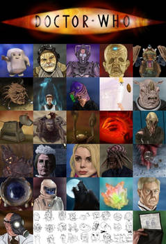 Doctor Who New Series Alphabet