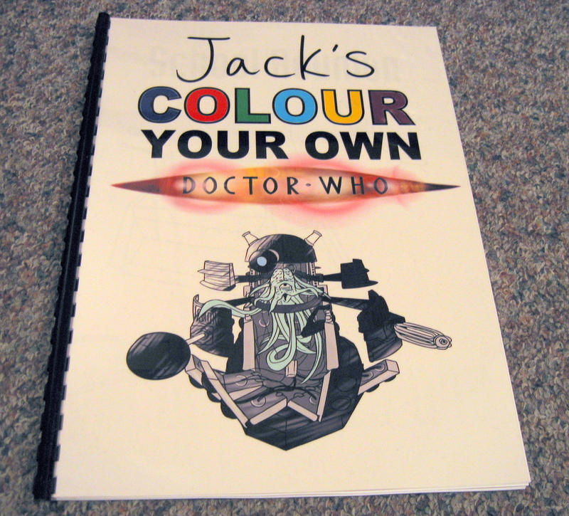 Doctor Who Colouring Book By Jinkies36 On DeviantArt