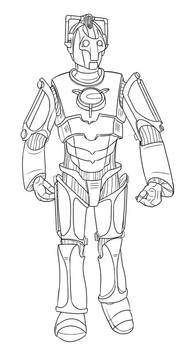 Colour-Your-Own Cyberman