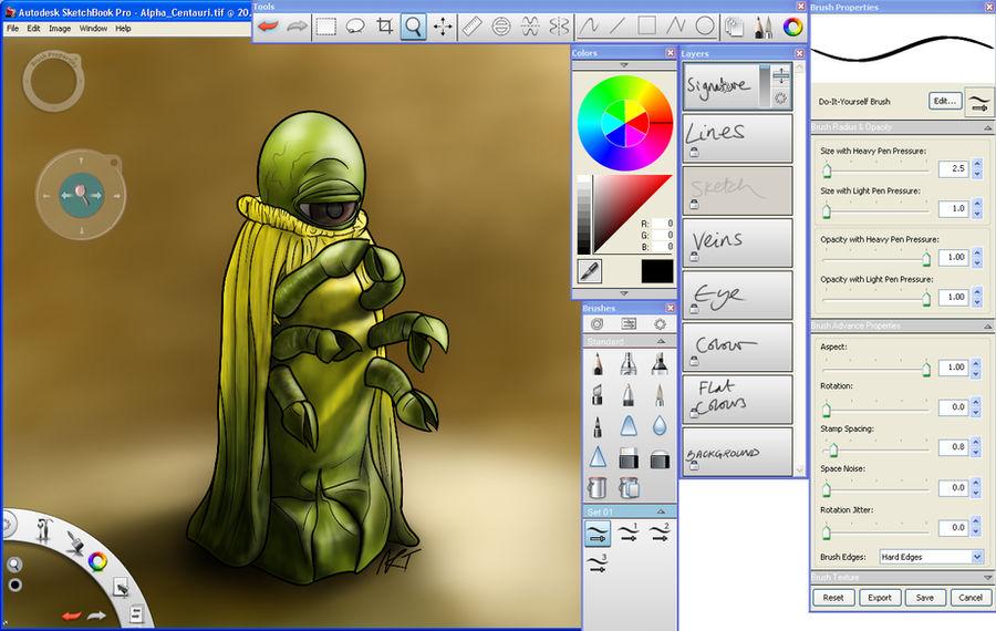 Autodesk Sketchbook Pro 2011 By Jinkies36 On Deviantart