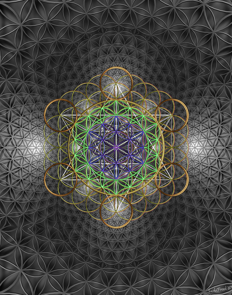 how to make sacred geometry art