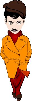 Sherlock Holmes Drawing Vector by fatihdmrg