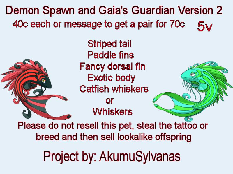 Demonspawn.gaia Guardian V2 by Kitarina
