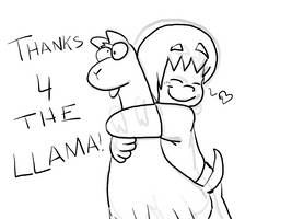 Thank You For Your Llamas by HEADCASEComics