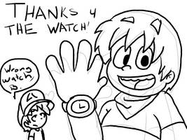 Thanks For The Watch by HEADCASEComics
