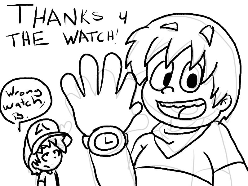 Thanks For The Watch