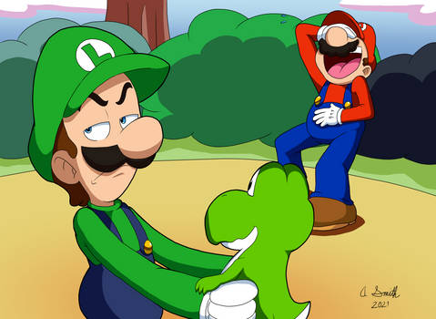Mama Luigi - Scene Redraw
