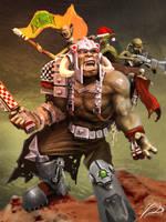 Choppa Claus by YoDCreaction