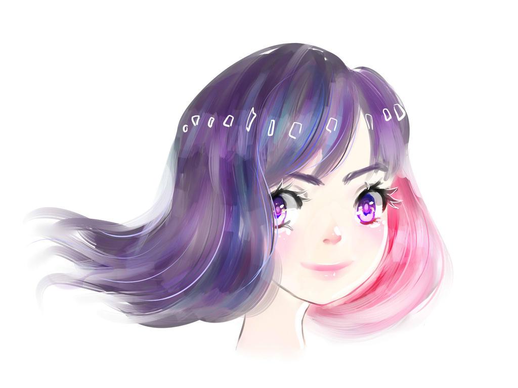 Galaxy Girl by jellyqueenie