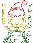 [5th day of Xmas]Thorki pixel doodle by Winnie-thepurplegirl