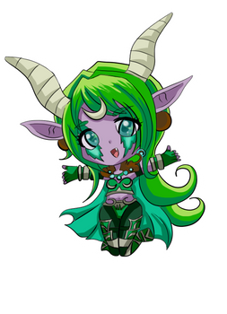 Ysera Chibi Sticker!
