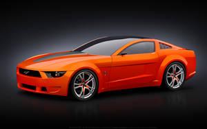 Giugiaro Mustang Vector by p3nx