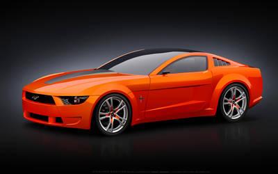 Giugiaro Mustang Vector