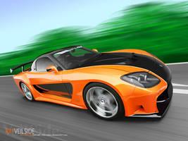 Veilside RX7 T-Drift Vector by p3nx