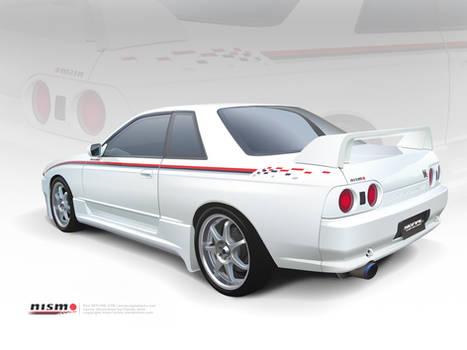 R32 Skyline Vector