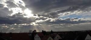 The infinite vastness of the sky