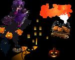 Halloween Creepy Castle