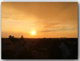 sky that glowed yellow 2
