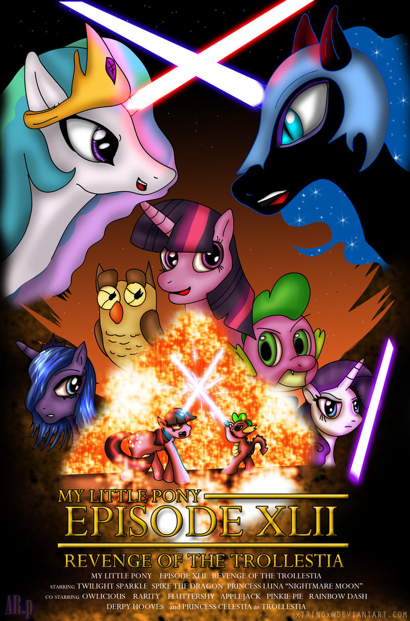 MLP: Revenge of the Trollestia by AniRichie-Art