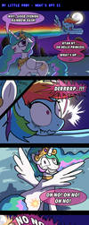 MLP: What's Up? II by LadyAniDraws