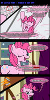 MLP: Pinkie's Day Off -COMIC- by LadyAniDraws