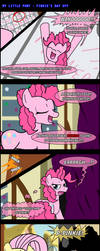 MLP: Pinkie's Day Off -COMIC- by LadyAniDraws
