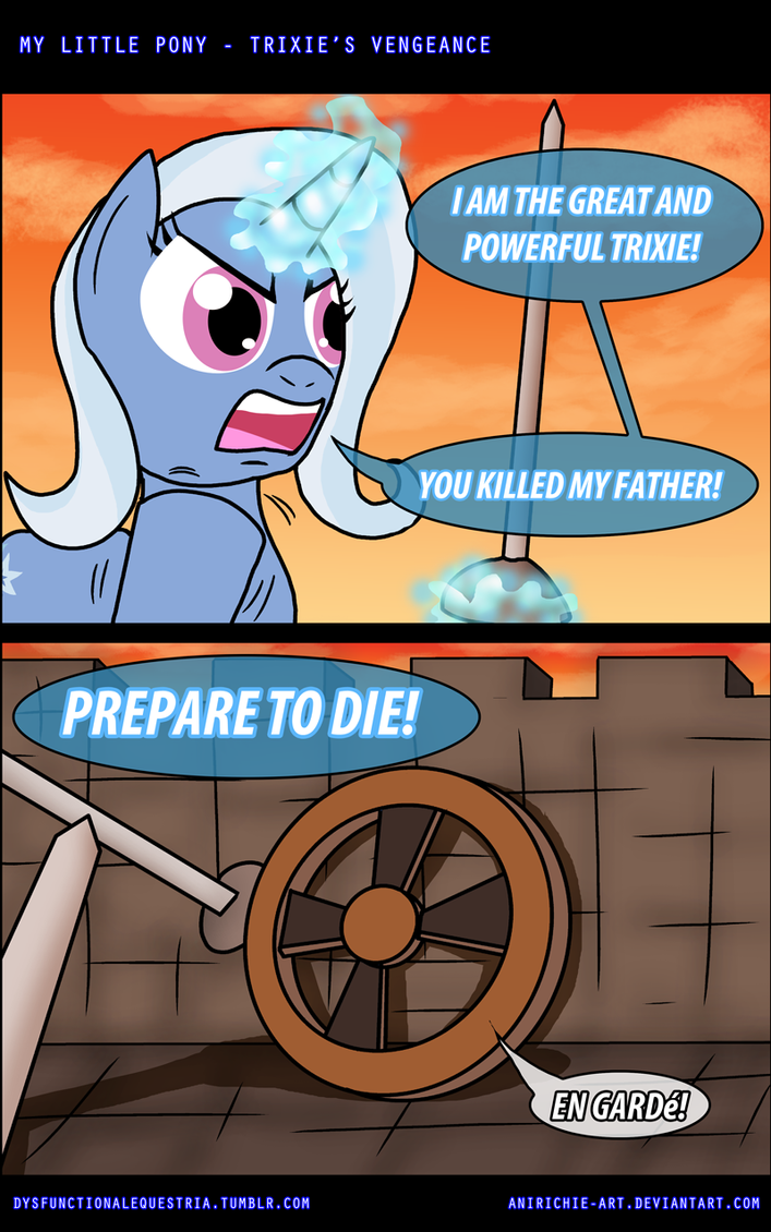 MLP: Trixie's Vengeance by AniRichie-Art