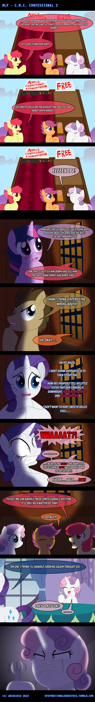 MLP: CMC Confessional 2 by AniRichie-Art