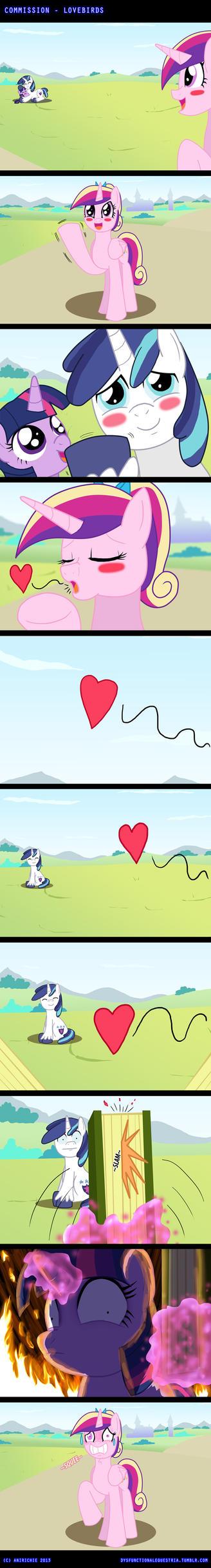 COM - Lovebirds (COMIC) by AniRichie-Art