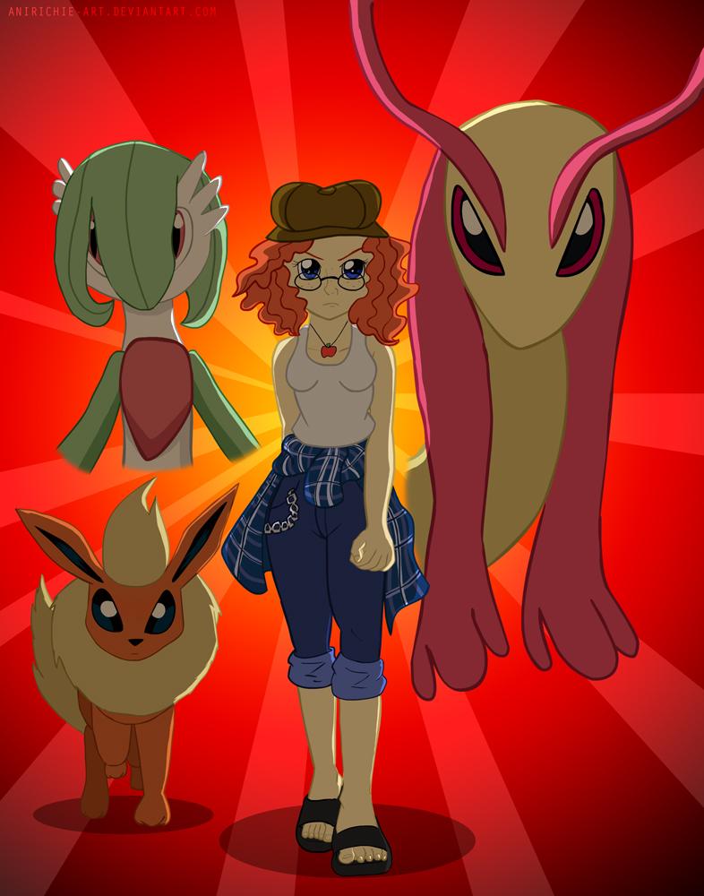 Pokemon Trainer Penny Rich by AniRichie-Art