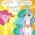 MLP ATG: CELESTIA'S OLD! LOL!!! (Day 15)