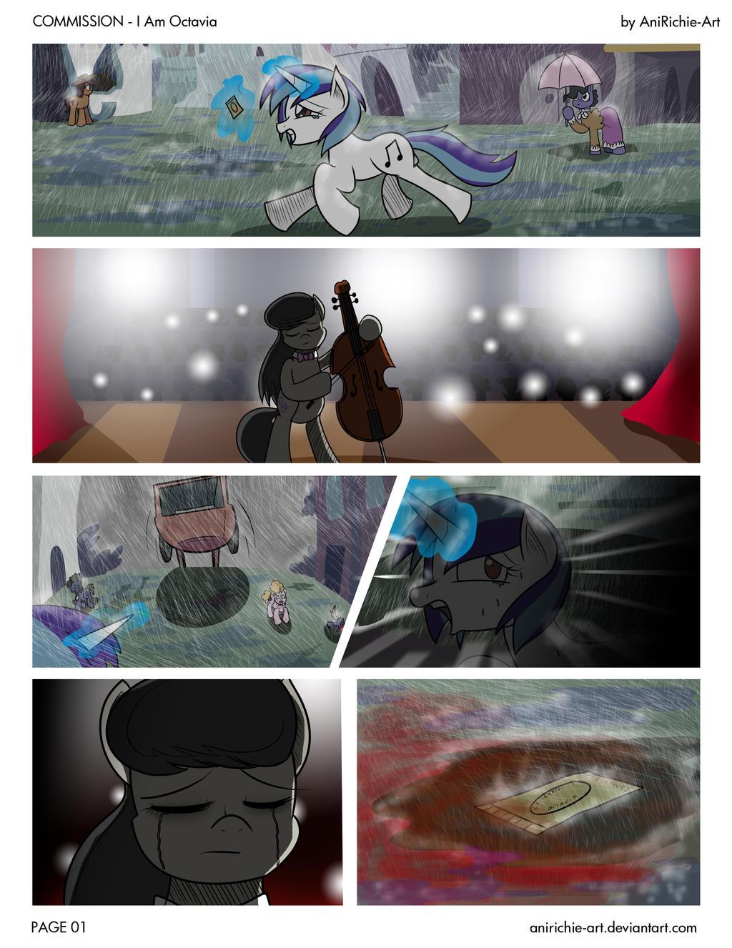 Encore: I am Octavia - PAGE 01 (COMIC)
